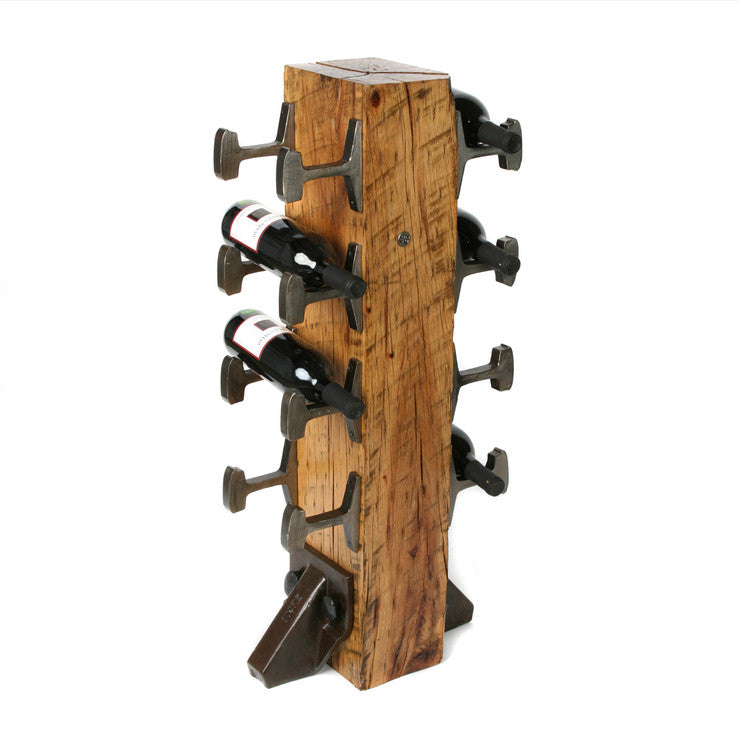 8 Bottle Wine Rack Light