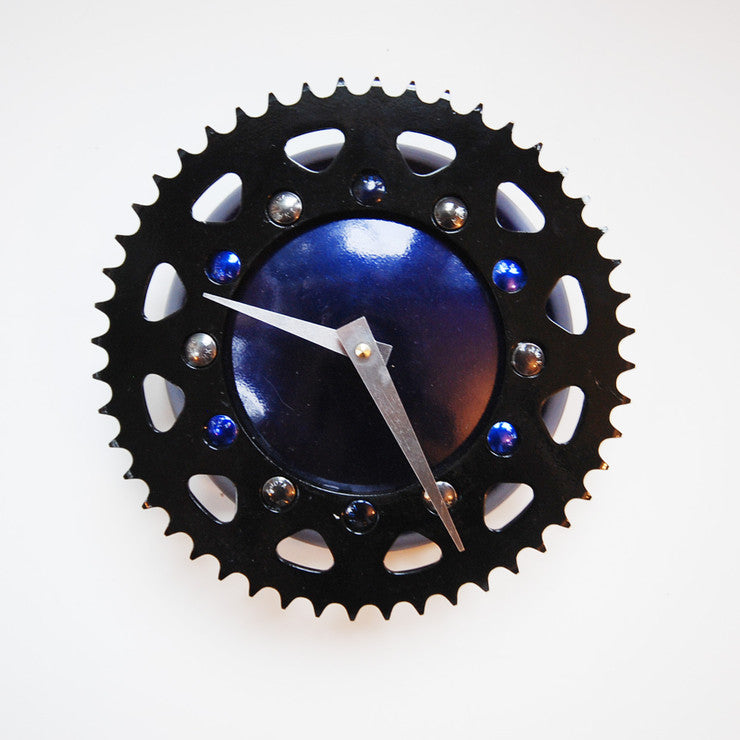 Black And Blue Clock