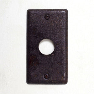 Dimmer & Cable Outlet Wall Plate