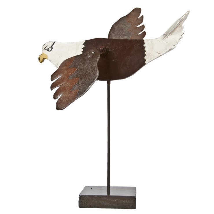 Folk Art Eagle Whirligig