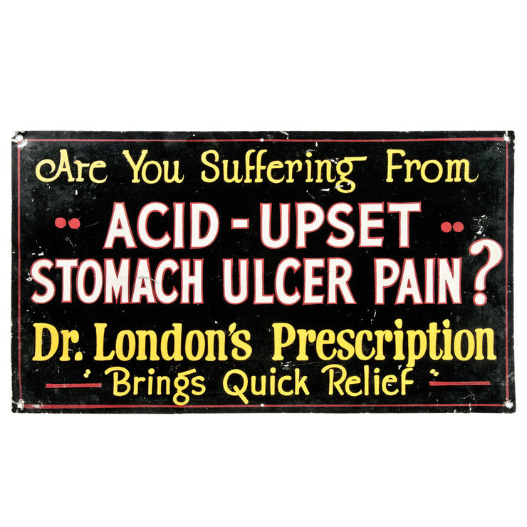 Dr. London's Upset Stomach Sign