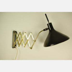 Lightolier Accordion Wall Lamp