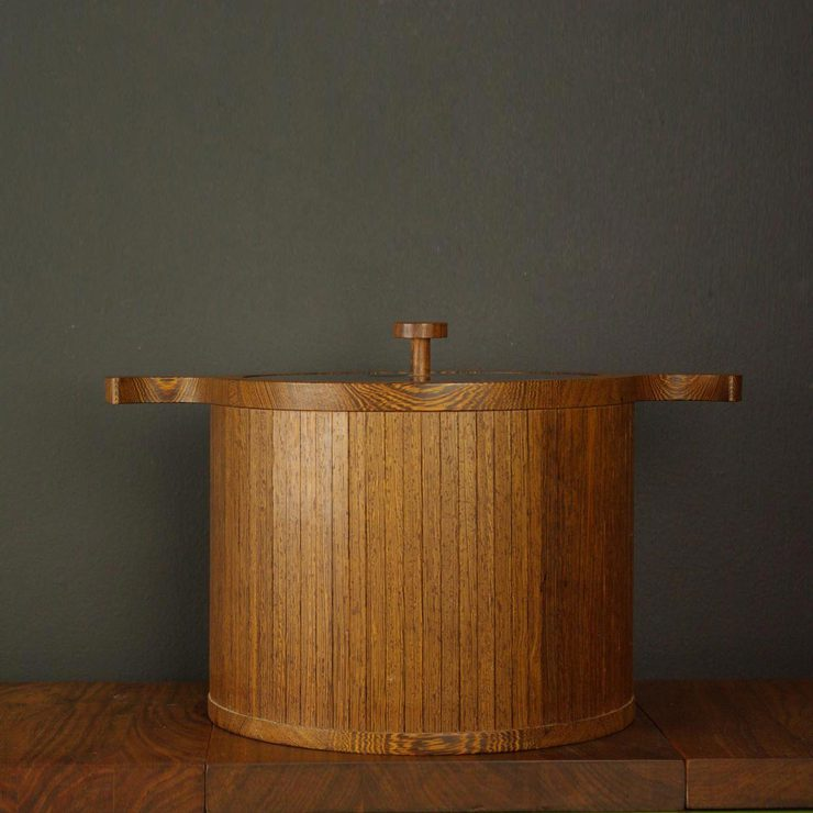 Danish Wenge Ice Bucket