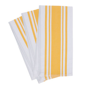 Center Band Towel Yolk Set Of 3