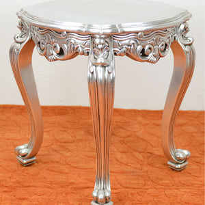 Absolom Roche Side Table Silver
