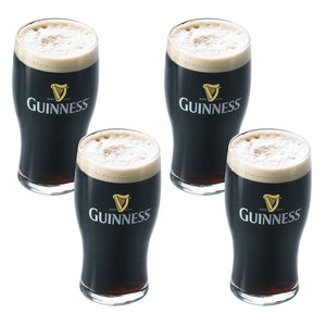 Guinness Pint Glass Set Of 4