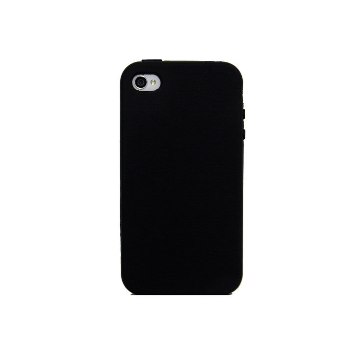 iPhone 4/4S Silicon Case Black