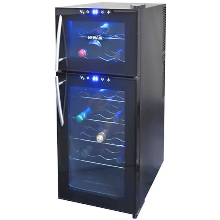 Dual Zone Wine Cooler 21 Black