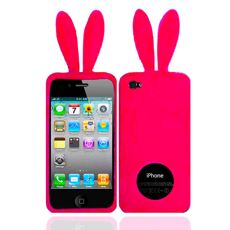 Bunny Ears iPhone 4/4S Case Pink