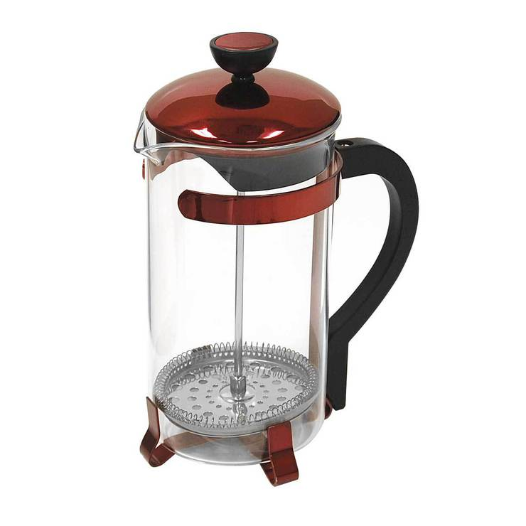 Classic Coffee Press Red