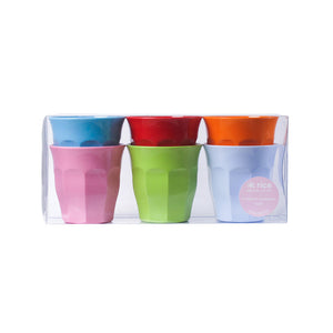 Curved Cups Set Of 6