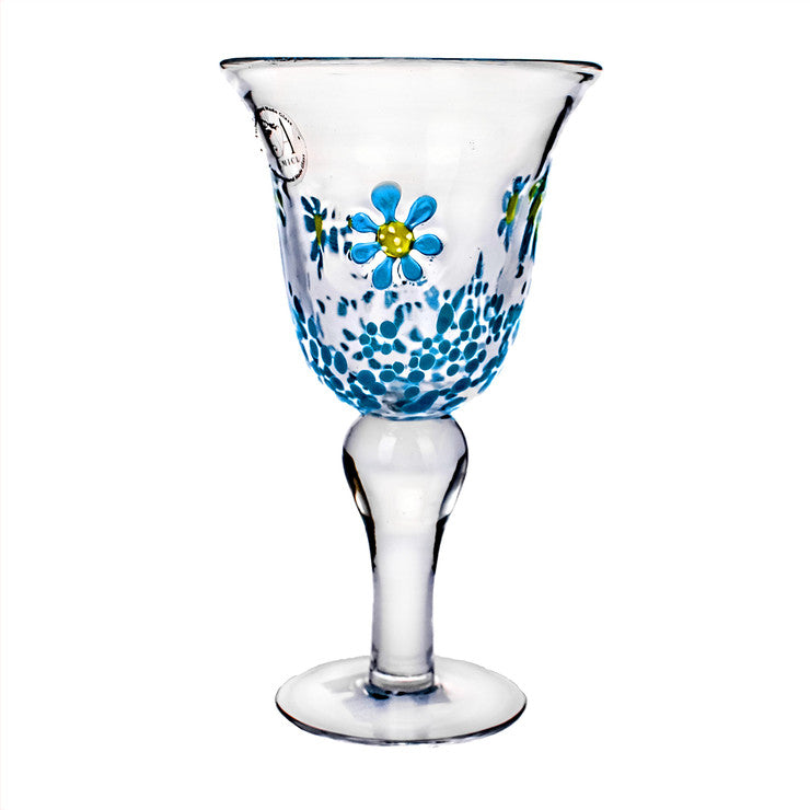 Flower Field Goblet Set Of 4