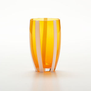 Gessato Beverage Stripe Orange