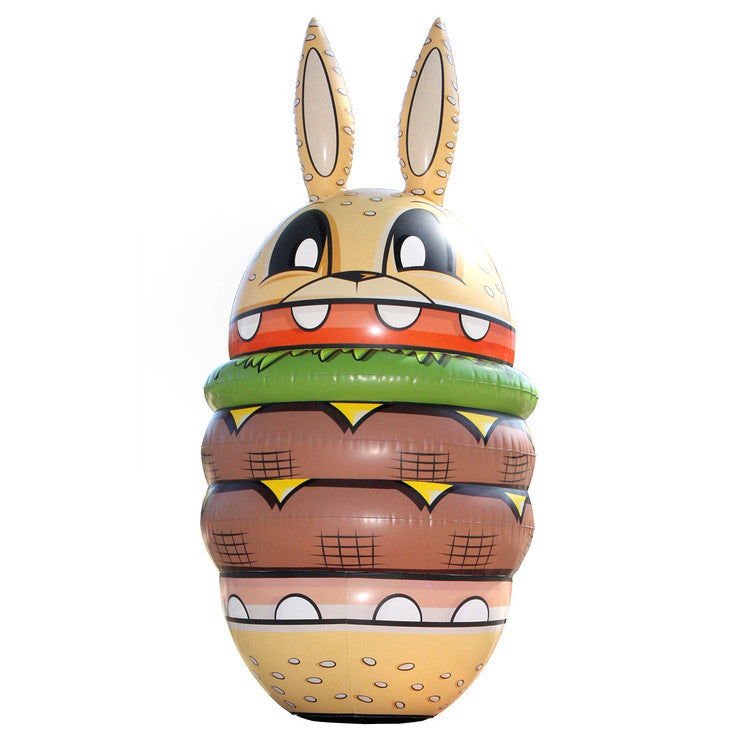 Burger Bunny Inflatable