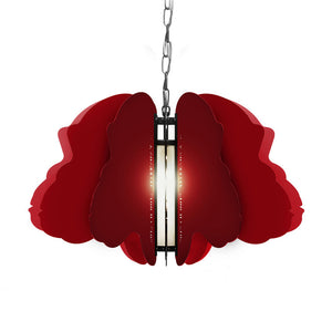 Chimpanzee Pendant Light Ruby