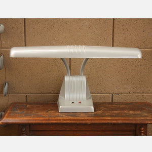 Dazor Gray Desk Lighting