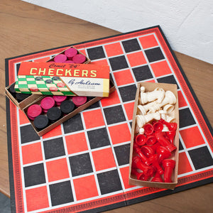 Chess and Checkers Game Set