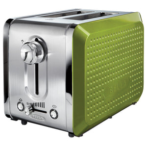 Dots 2 Slice Toaster Lime