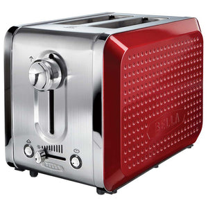 Dots 2 Slice Toaster Red