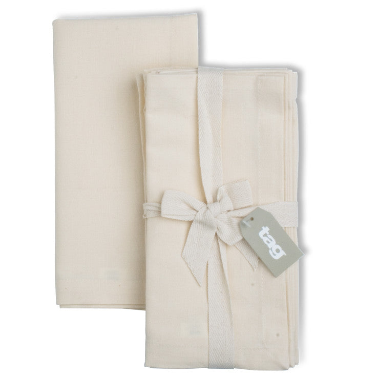 Basic Napkin Natural 4Pk