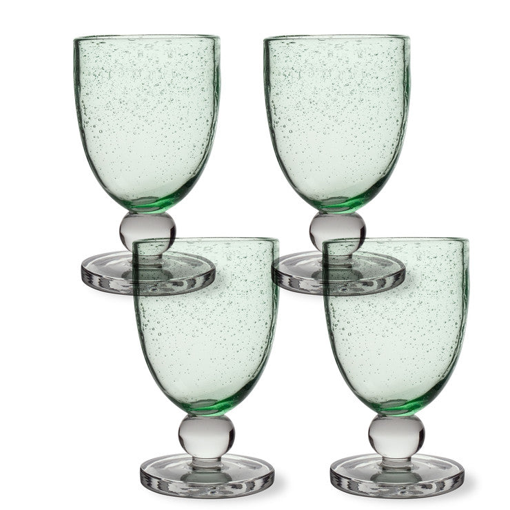 Goblet Green Set Of 4