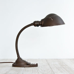 Industrial Metal Gooseneck Lamp