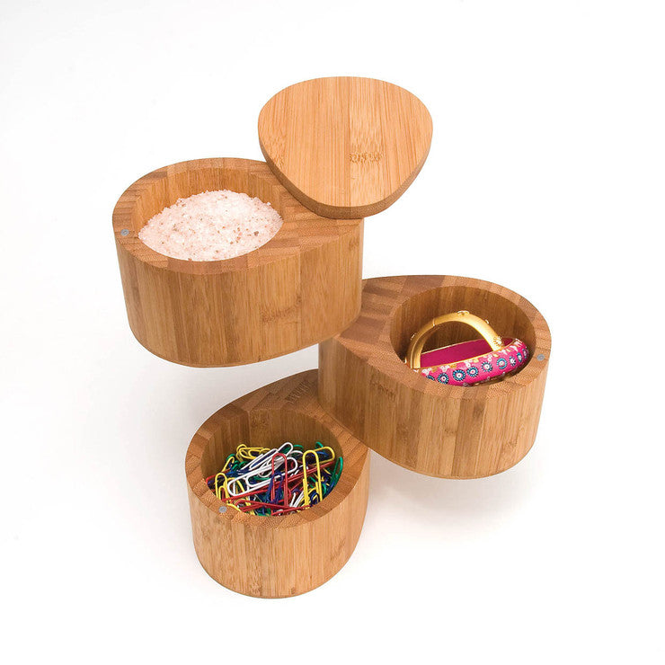 3-Tier Salt And Spice Box