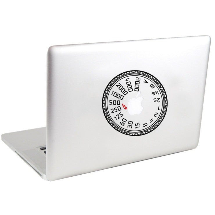 Camera Dial Decal 5
