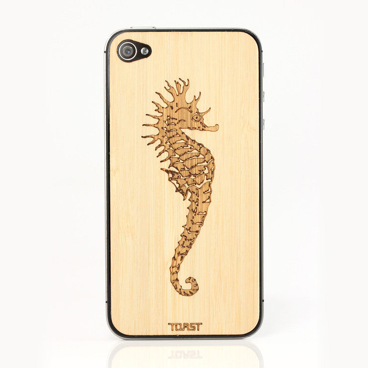 iPhone 4/4S Seahorse Bamboo