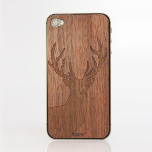 iPhone 4/4S Stag Walnut