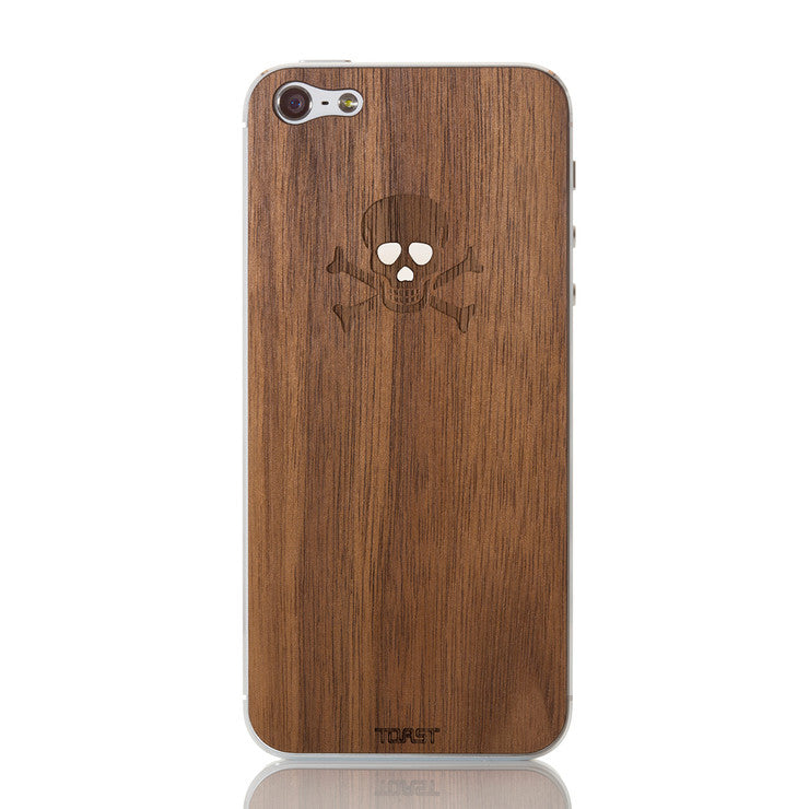 iPhone 5 Skull Walnut