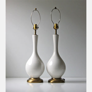 Genie Table Lamps Pair