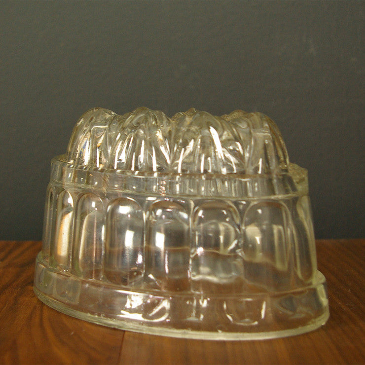 Depression Glass Leaf Mold