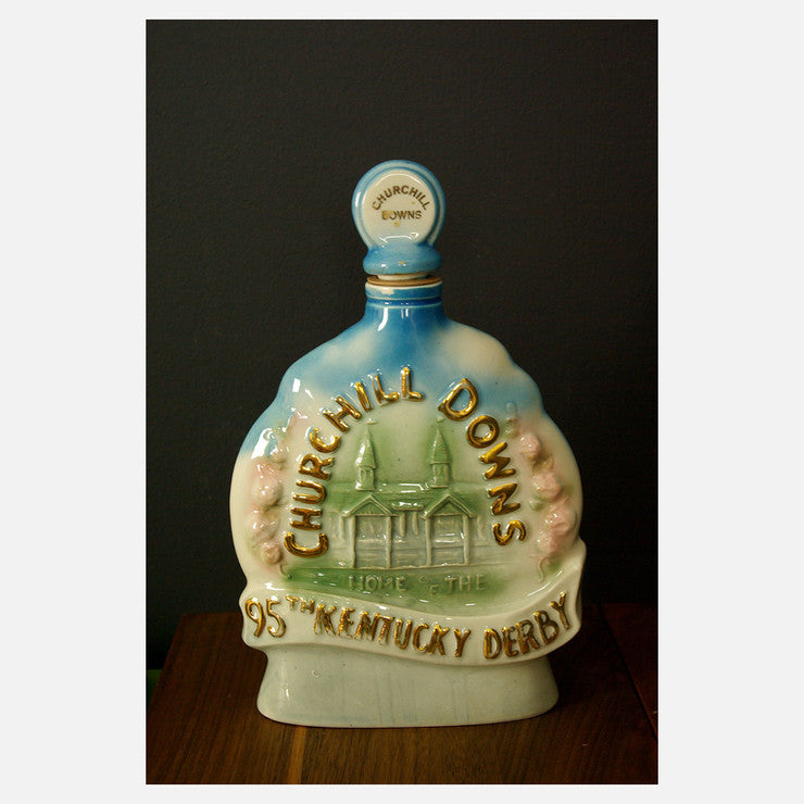 Churchill Downs Derby Decanter