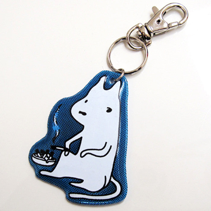 SmokingDog Key Ring