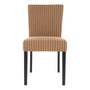 Camille Dining Chair Brown Pair