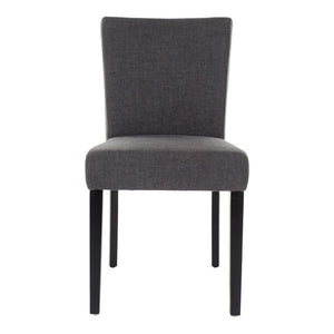 Camille Dining Chair Gray Pair