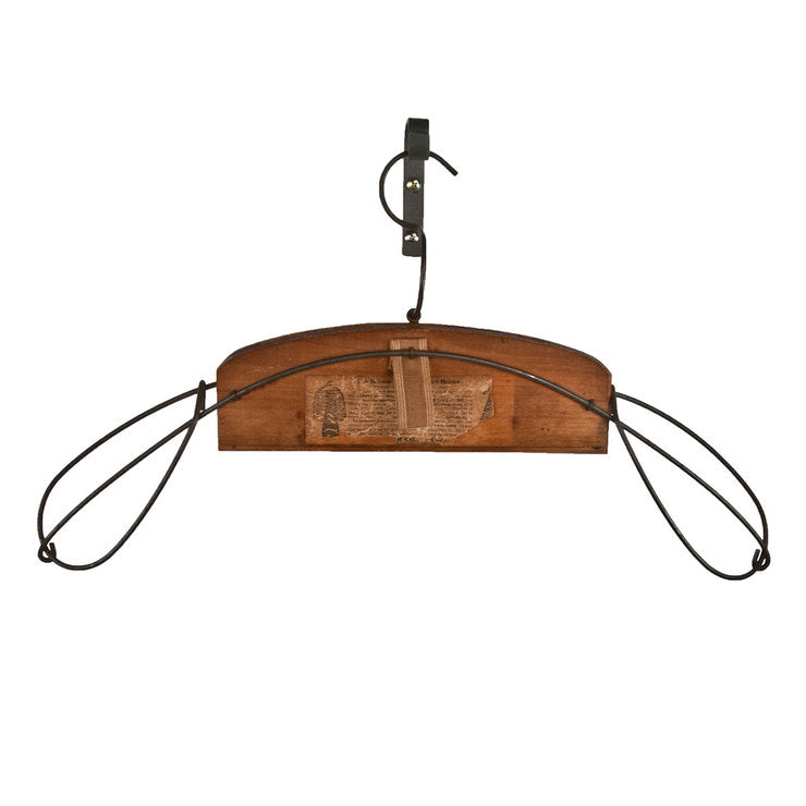 Belmar Wire And Wood Coat Hanger