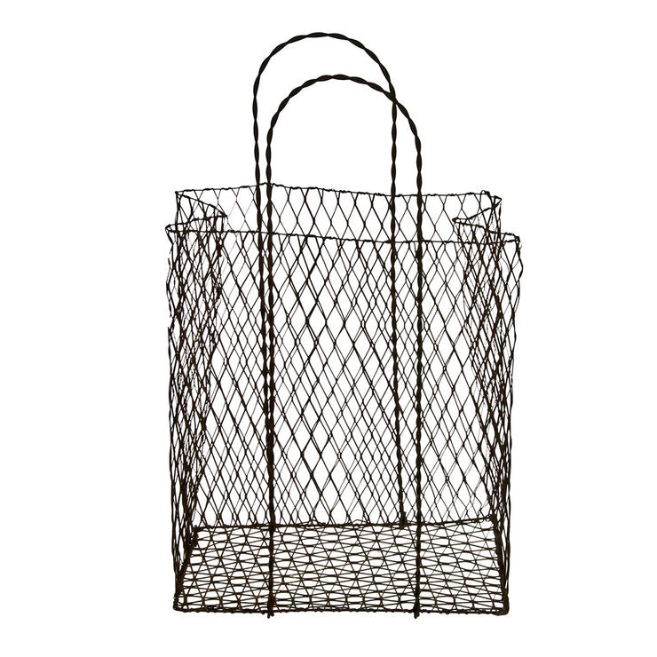Rustic Wire Mini Shopping Bag