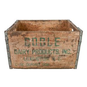 Coble Dairy Products Crate