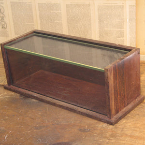 Glass And Wood Display Case I