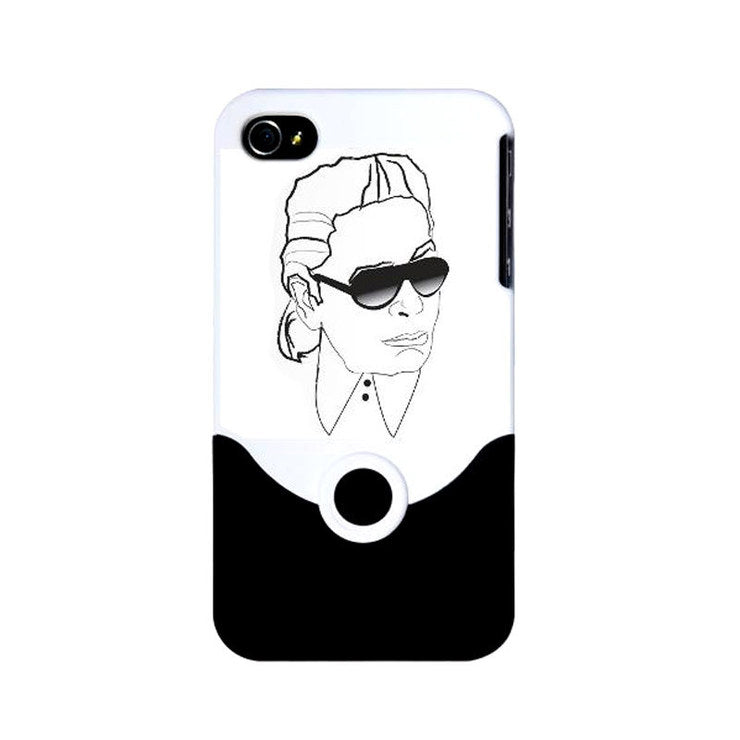 Karl iPhone 4 Cover