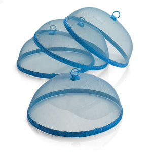 Food Dome Blue Set Of 4