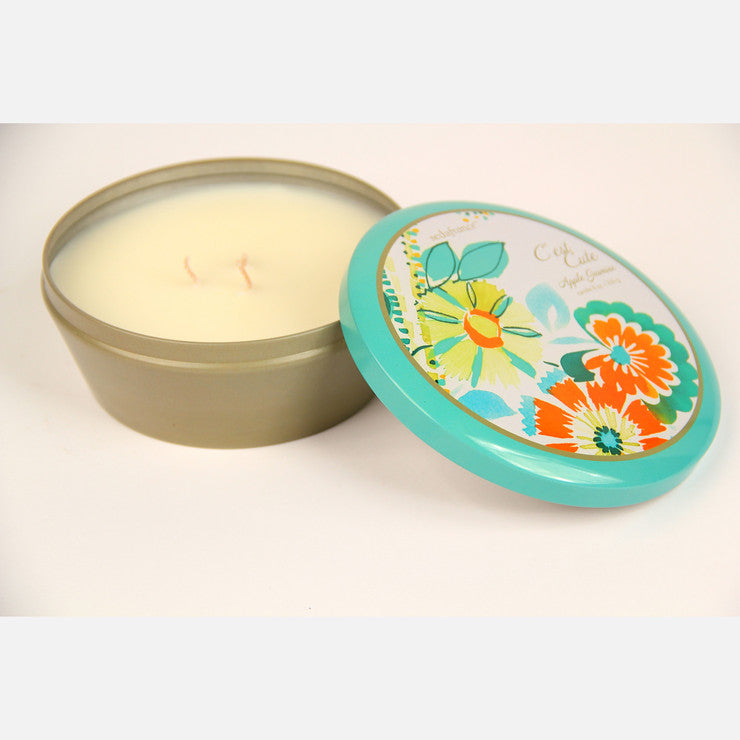 Apple Jasmine 3 Wick Tin