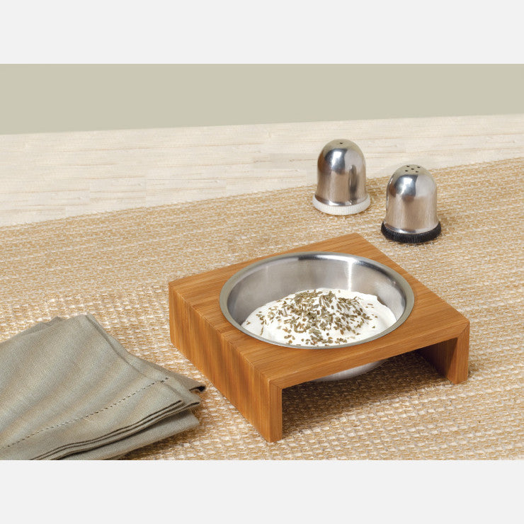Bamboo Serving Bowl 8x10\ Light""