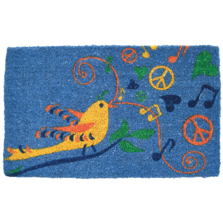 Hippie Bird Handwoven 18x30