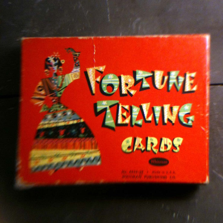 1940s Fortune Telling Cards