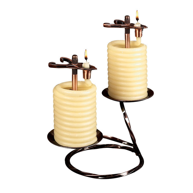 36 Hour Round Table Candle 2Pc