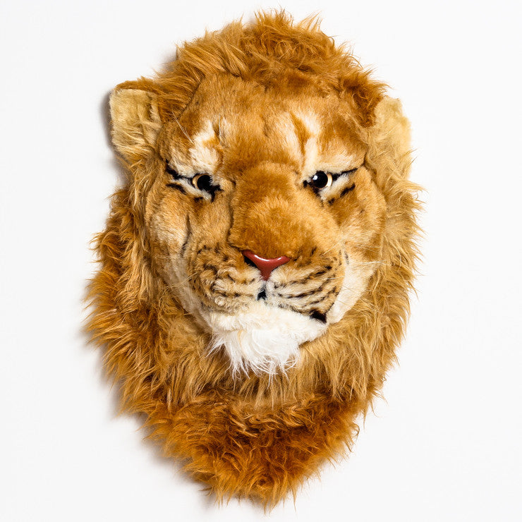 Lion Head Wall Mount Large