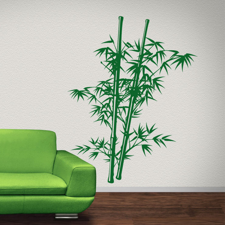 Chinese Bamboo Tree 65x84 Green